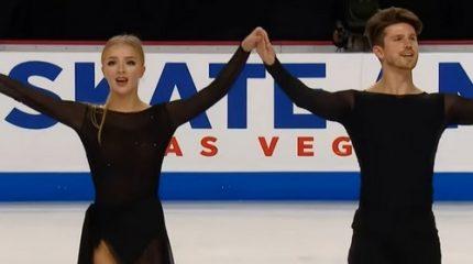 Александра Степанова и Иван Букин стали серебряными призерами 1-го этапа Гран-при 2019 по фигурному катанию у танцоров