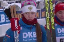 Российская биатлонистка Светлана Миронова стала бронзовым призером спринта 13 декабря на 2-м этапе КМ 2019/2020