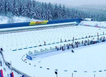 Сборная России завоевала серебро в смешанной эстафете на чемпионате Европы 2020 по биатлону