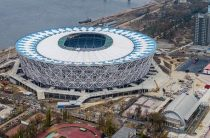 Стадион «Волгоград-Арена» попал в список семи российских стадионов, претендующих на звание лучшей футбольной арены 2018 года