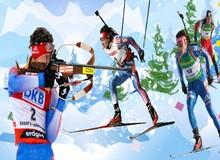 Чемпионат мира по биатлону 2013: состав смешанной эстафеты