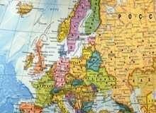 Фото карты Европы