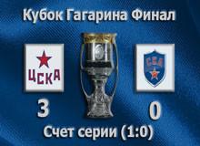 Кубок Гагарина плей-офф ЦСКА-СКА 3:0