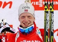 Норвежский биатлонист Йоханес Бё