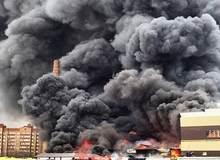 Пожар в ТЦ Казани