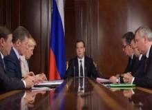 Совещание Д. Медведева в вице-премьерами