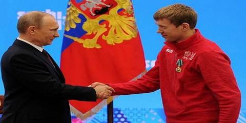 Владимир Путин и Алексей Волков