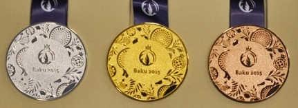 медали Баку