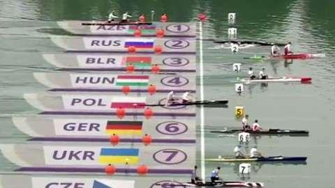 Каноист Алексей Коровашков едва не утонул после финиша на Европейских играх
