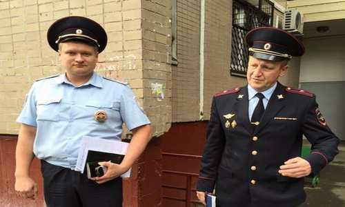 Полиция пришла к дому Навального