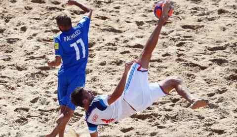ЧМ 2015 по пляжному футболу. Матч за третье место Россия-Италия 5:2