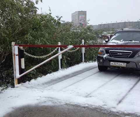 Воркута. Снегопад 5 июля 2015