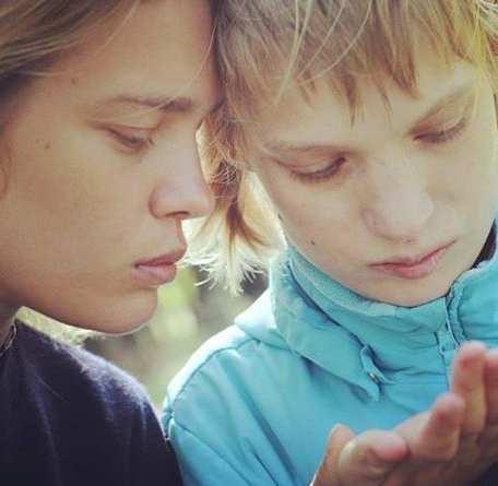 Фотомодель Наталья Водянова со своей сестрой Оксаной