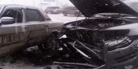 Авария на 2-й Продольной в Волгограде