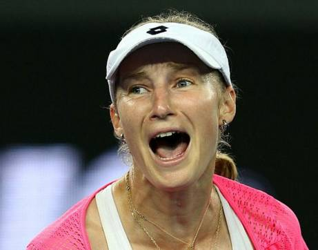 Теннисистка Екатерина Макарова