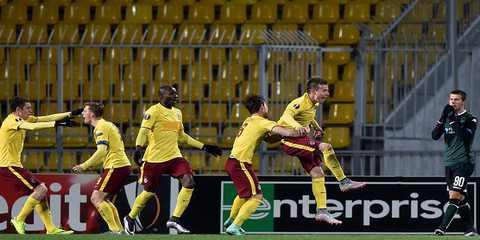 Лига Европы 2015/2016. Краснодар-Спарта 0:3