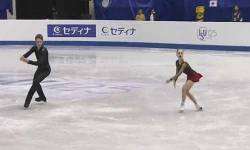 Ванесса Джеймс/Морган Сипре завоевали золото ЧЕ 2019 по фигурному катанию в соревнованиях пар, Тарасова/Морозов-вторые
