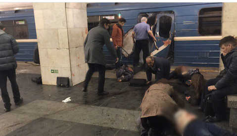 Стал известен предварительный список пострадавших при взрыве в метро Санкт-Петербурга 3 апреля