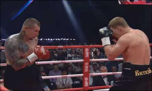 Александр Поветкин победил Андрея Руденко в бою за титулы WBO International и WBA Inter-Сontinental