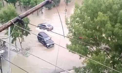 Наводнение в Приморье привело к введению режима ЧС в Уссурийске