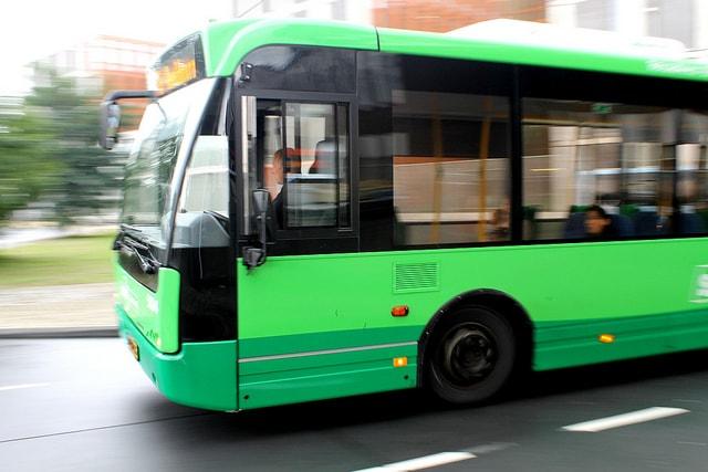 Автобус на маршруте 59 Волгоград