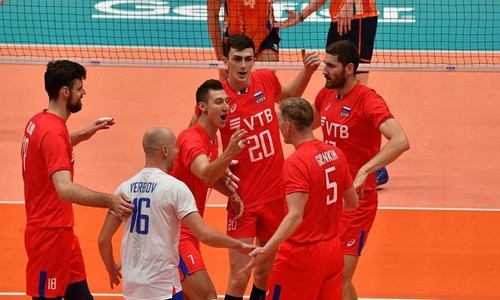 Мужская сборная России по волейболу обыграла Нидерланды на чемпионате мира 2018