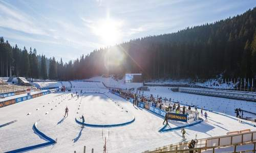 Женская спринтерская гонка на первом этапе КМ по биатлону 2018/2019 пройдет в Поклюке 8 декабря