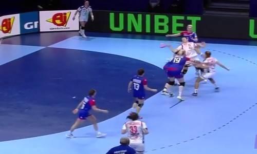 чемпионат европы по гандболу,Россия-Сербия