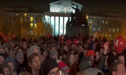 Митинг в Волгограда