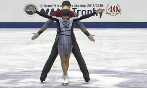 Наталья Забияко/Александр Энберт, короткая программа