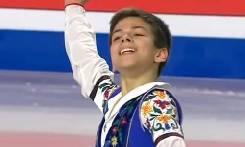 Петр Гуменник, финал юниорского Гран-при 2018