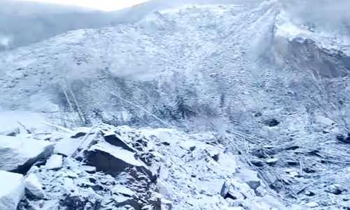 Сопка, снесенная метеоритом