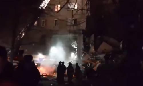 Взрыв газа Магнитогорск 31 декабря
