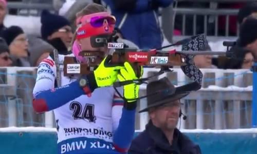 Анастасия Кузьмина, победительница женского спринта 17 января