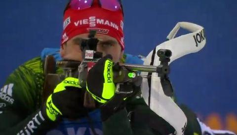 Немецкий биатлонист Арнд Пайффер
