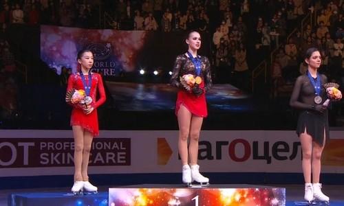призеры ЧМ 2019 у женщин