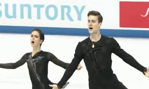 Наталья Забияко и Александр Энберт,, командный ЧМ 2019