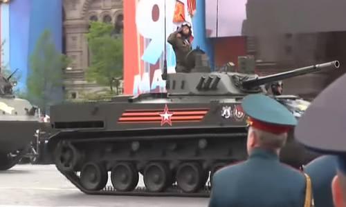 Репетиция парада Победы 2019 в Москве