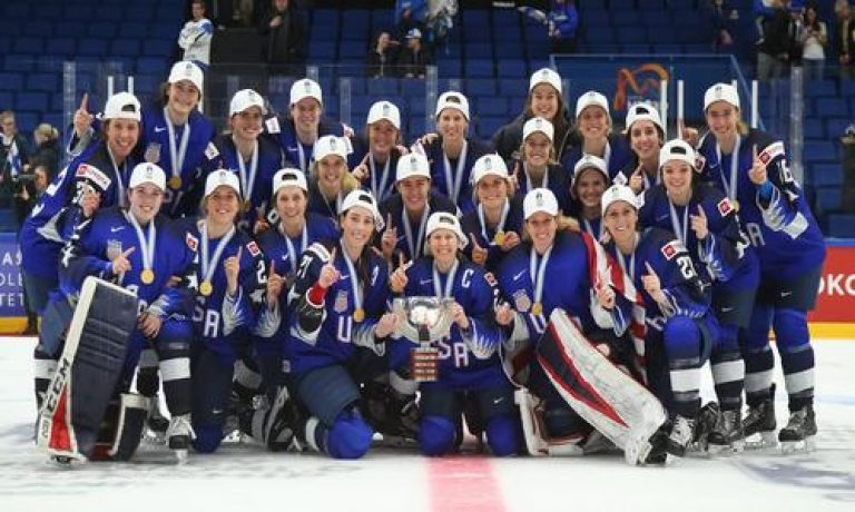 Фотосессия женской сборной сша по хоккею