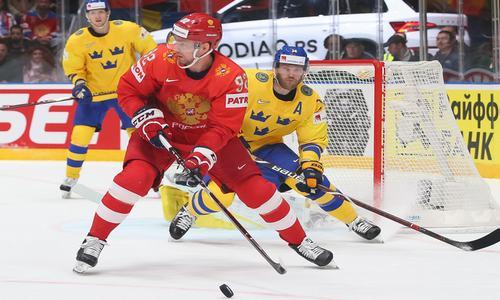 хоккей, Россия-Швеция, ЧМ 2019