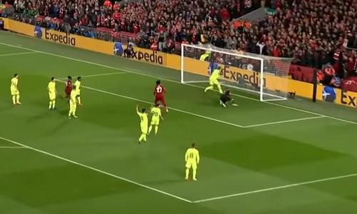 Ответный полуфинал Лиги чемпионов Ливерпуль-Барселона