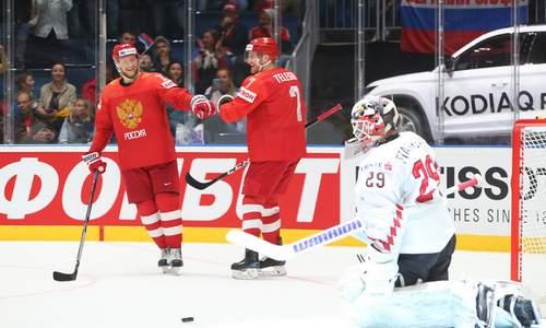 хоккей, ЧМ 2019, россия