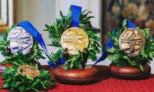 Медали Европейских игр 2019 в Минске