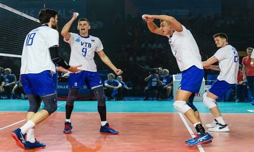 Волейбол,Лига наций 2019, Россия