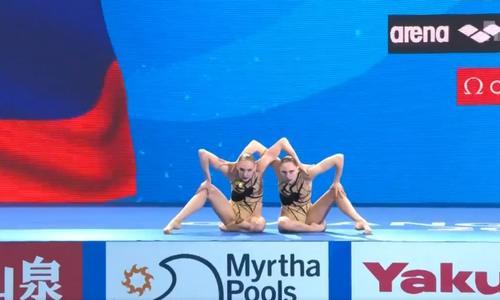 Светлана Ромашина/Светлана Колесниченко, синхронное плавание