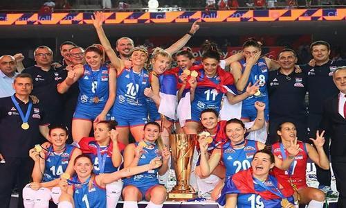 Волейболистки сборной Сербии выиграли ЧЕ 2019