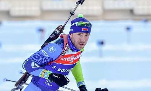 Сергей Бочарников, биатлон, сборная Беларуси