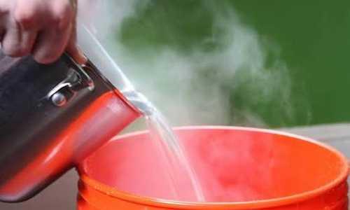 отключение горячей воды 1