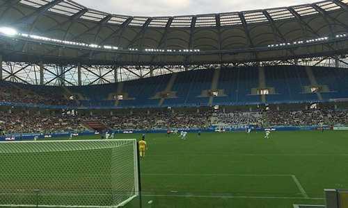 Футбол, Волгоград Арена
