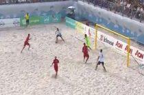 Выступление сборной России по пляжному футболу в Суперфинале Евролиги 2018 признано неудовлетворительным